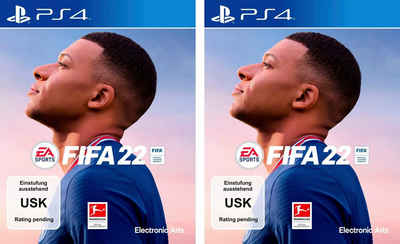FIFA 22 Doppelpack PlayStation 4