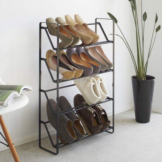 Yamazaki Schuhregal »Frame«, Schuhablage, für 8-12 Paar, freistehend, minimalistisch
