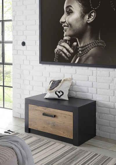 my home Schuhbank »Bruegge«, mit einer dekorativen Rahmenoptik