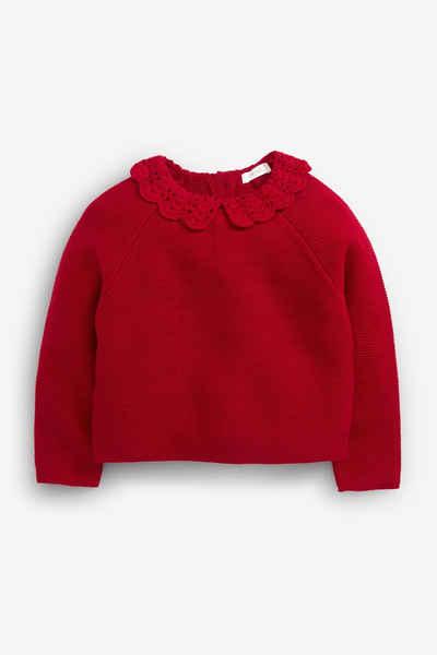 Next Strickpullover »Crochet Collar Jumper« (1-tlg)