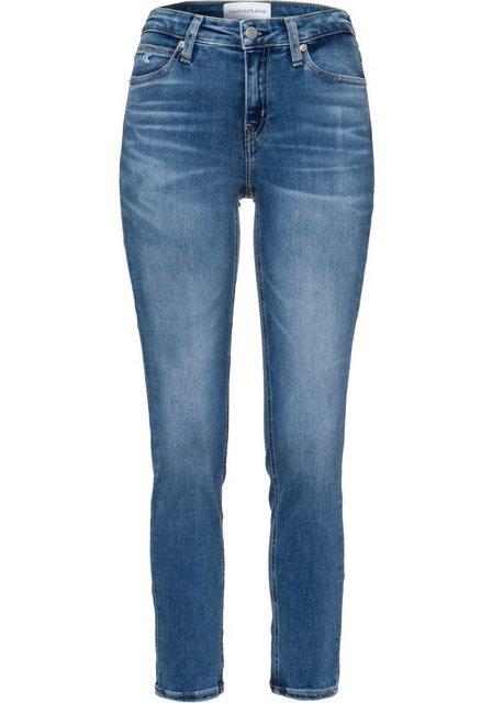 Hosen - Calvin Klein Jeans 5 Pocket Jeans »MID RISE SKINNY ANKLE« ›  - Onlineshop OTTO
