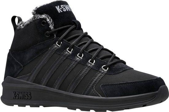K-Swiss »Vista Trainer Mid WNT« Sneaker mit Kontrastfarben Lasche hinten