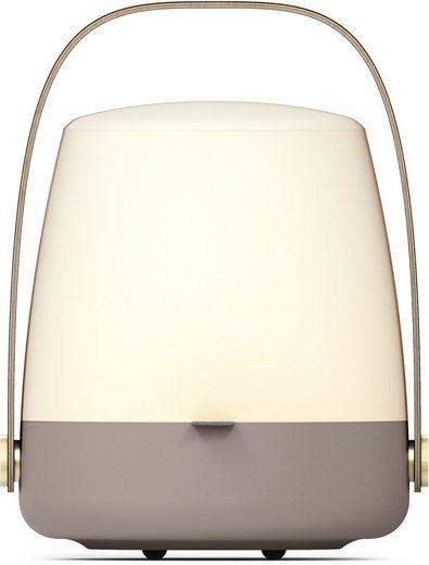 kooduu LED Tischleuchte »Lite-up«, dimmbar in 4 Stufen, mit hochwerigem Holzgriff