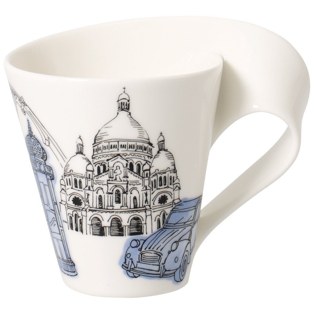 VILLEROY & BOCH Becher mit Henkel Paris »Cities of the World«