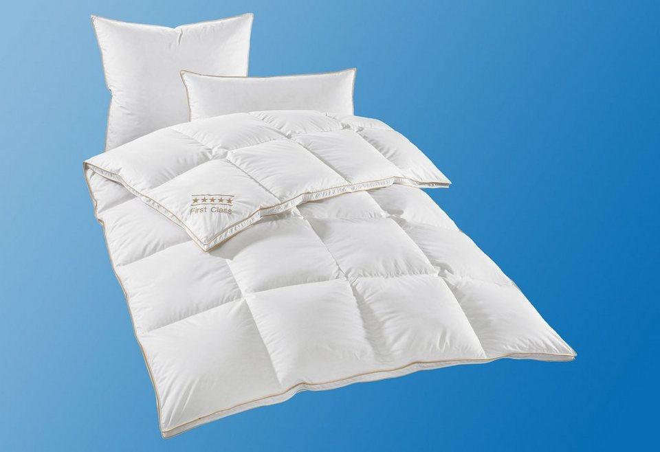 daunenbettdecke by ribeco hanse by ribeco warm f llung 90 daunen 10 federn bezug 100. Black Bedroom Furniture Sets. Home Design Ideas