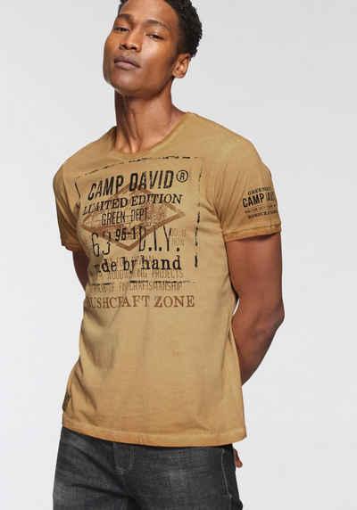 CAMP DAVID T-Shirt modisch bedruckt