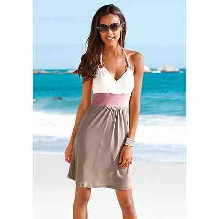 Beachtime Strandkleid mit Colour-Blocking