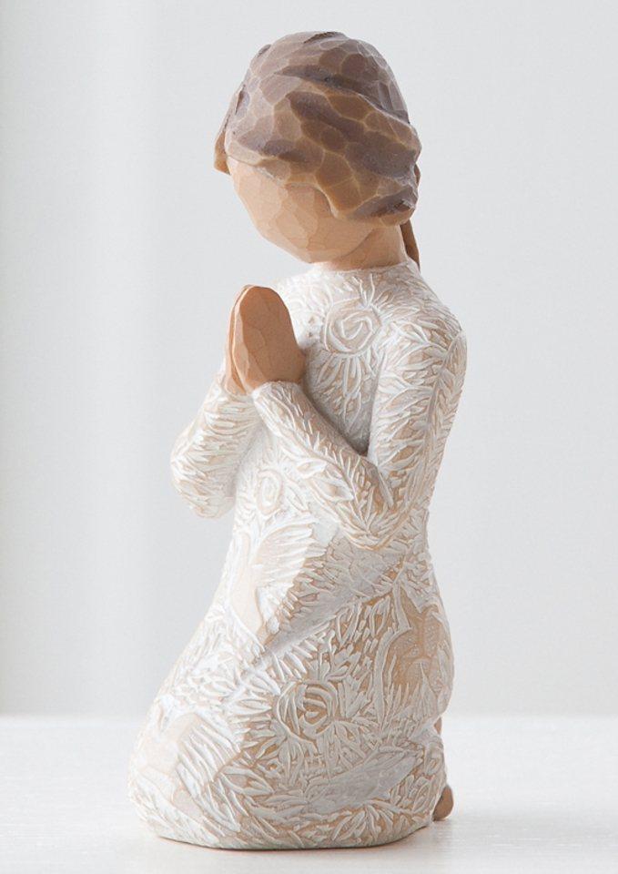 Figur, Willow Tree, »Die Betende« in natur