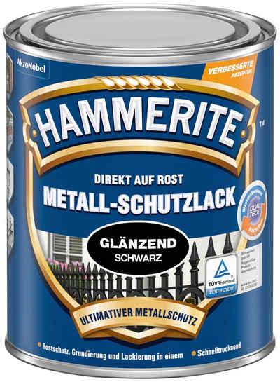 Hammerite Metallschutzlack »Glänzend«, 0,75 Liter, schwarz
