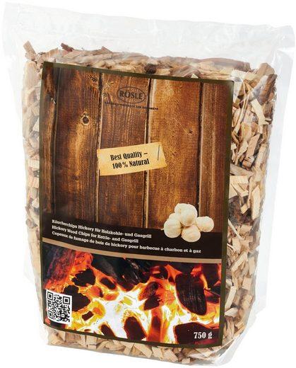 RÖSLE Räucherspäne Hickory, 750 g