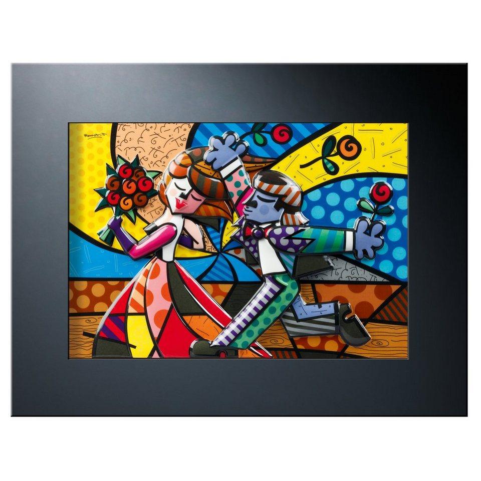 Goebel Reliefbild Follow Me »Artis Orbis - Britto« in Bunt