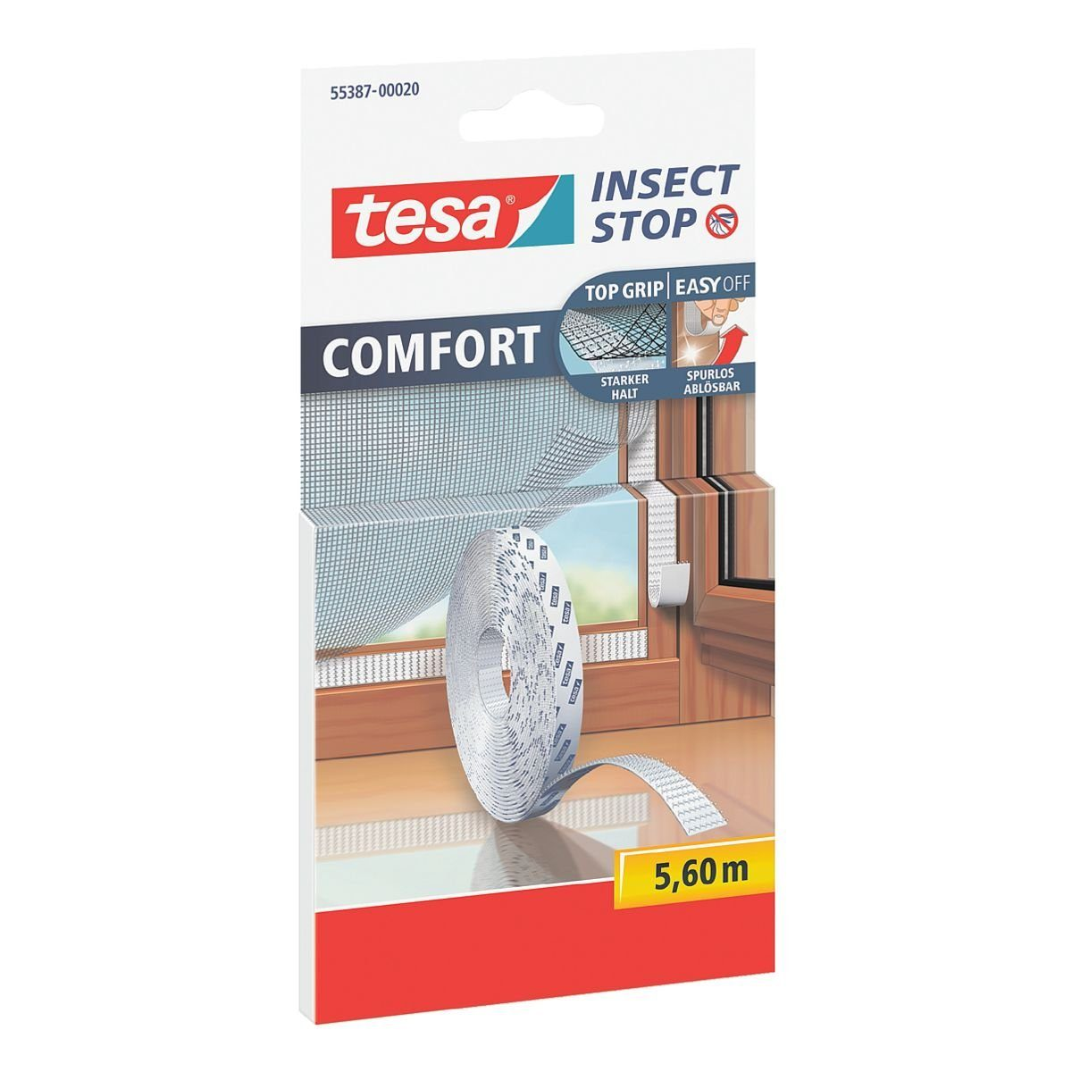 Tesa Klettband »Comfort« für Fliegengitter