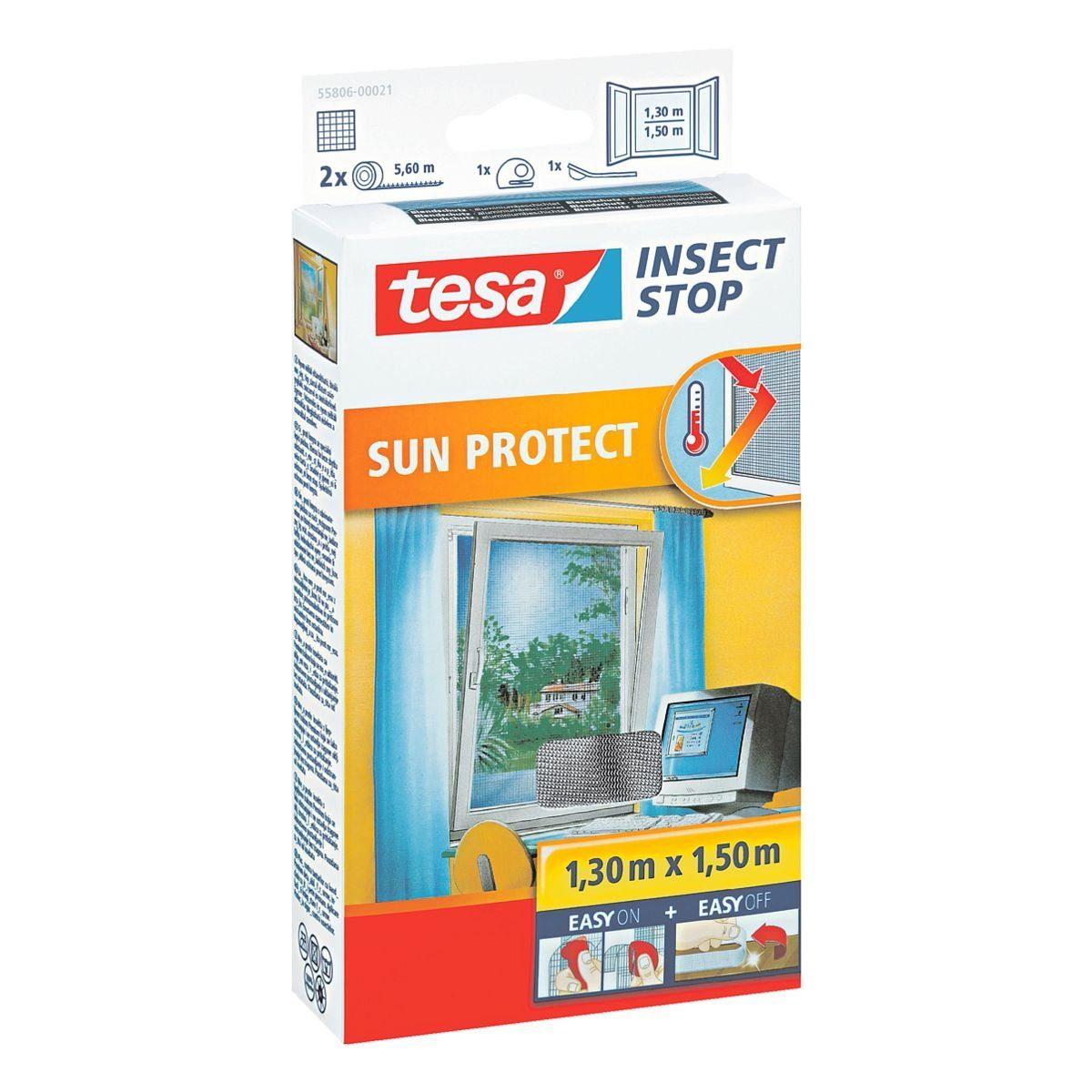 Tesa Fliegengitter »Sun Protect« für Fenster