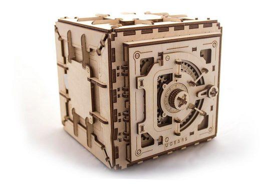 UGEARS 3D-Puzzle »UGEARS Holz 3D-Puzzle Modellbausatz SAFE«, 179 Puzzleteile