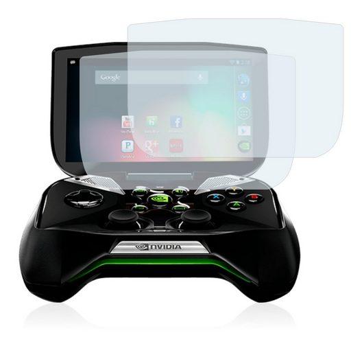 BROTECT Schutzfolie »für Nvidia Shield Portable«, (2 Stück), Folie Schutzfolie matt entspiegelt