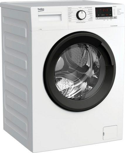 BEKO Waschmaschine WML81434NPS1, 8 kg, 1400 U/min