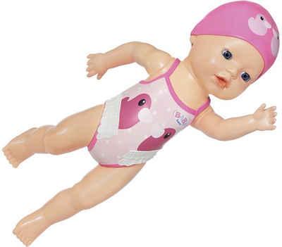 Baby Born Babypuppe »My First Swim Girl, 30 cm«, schwimmt Kraul und Schmetterling