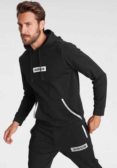 Calvin Klein Performance Kapuzensweatshirt Reflektierende Details