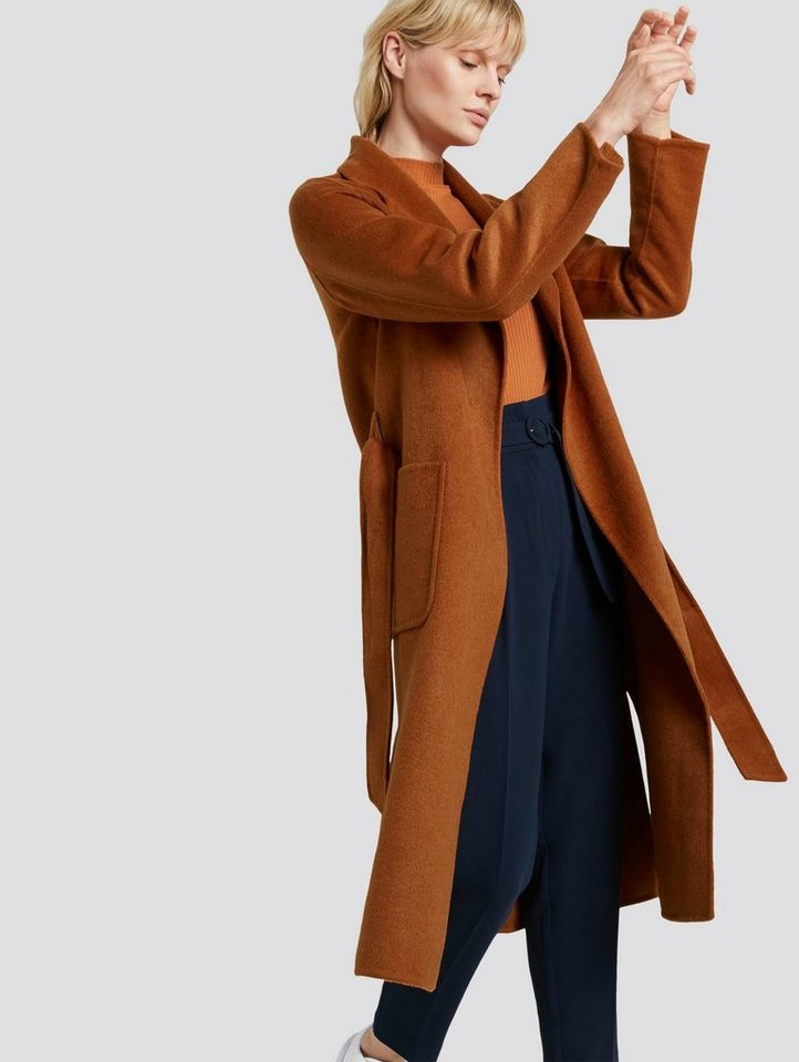 tom tailor mine to five -  Winterjacke »Handgefertigter Wollmantel«
