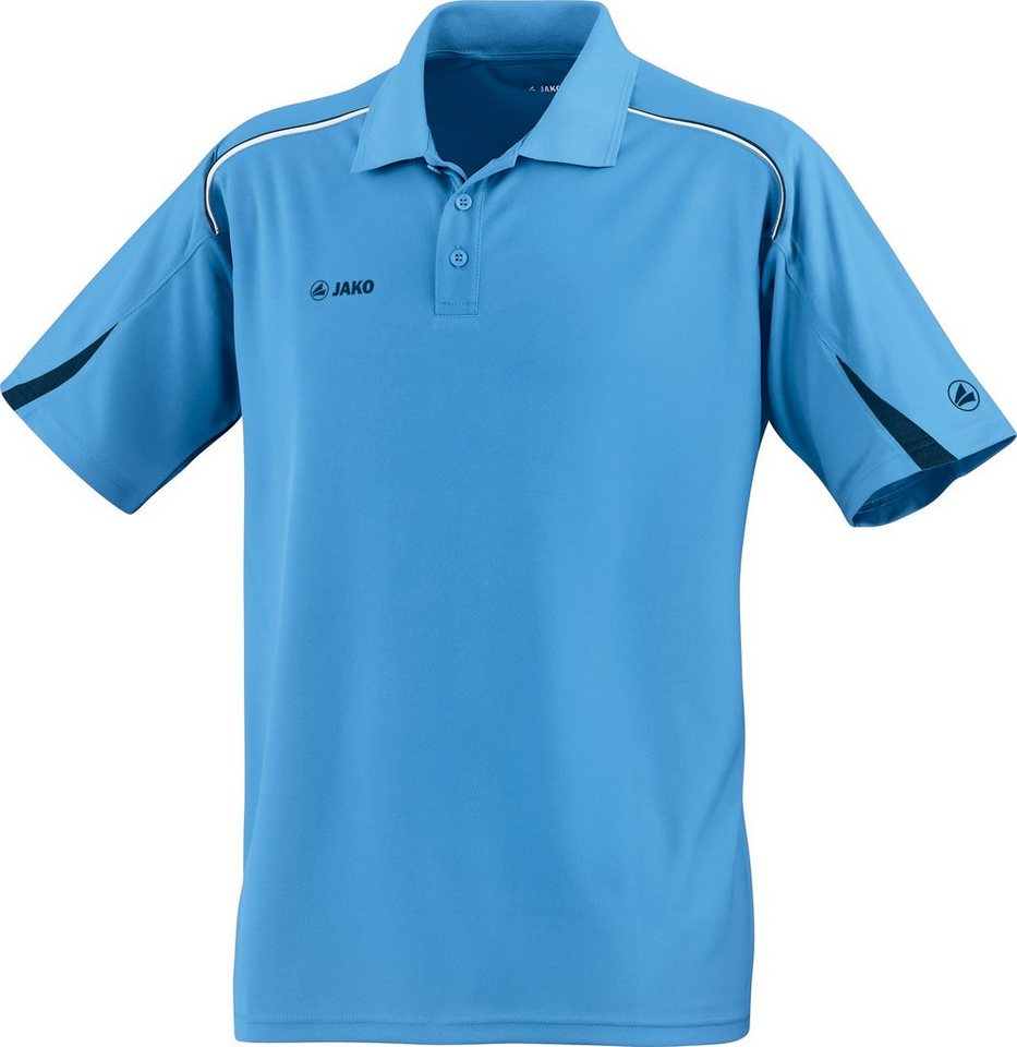 JAKO Polo Passion Kinder in skyblue/marine