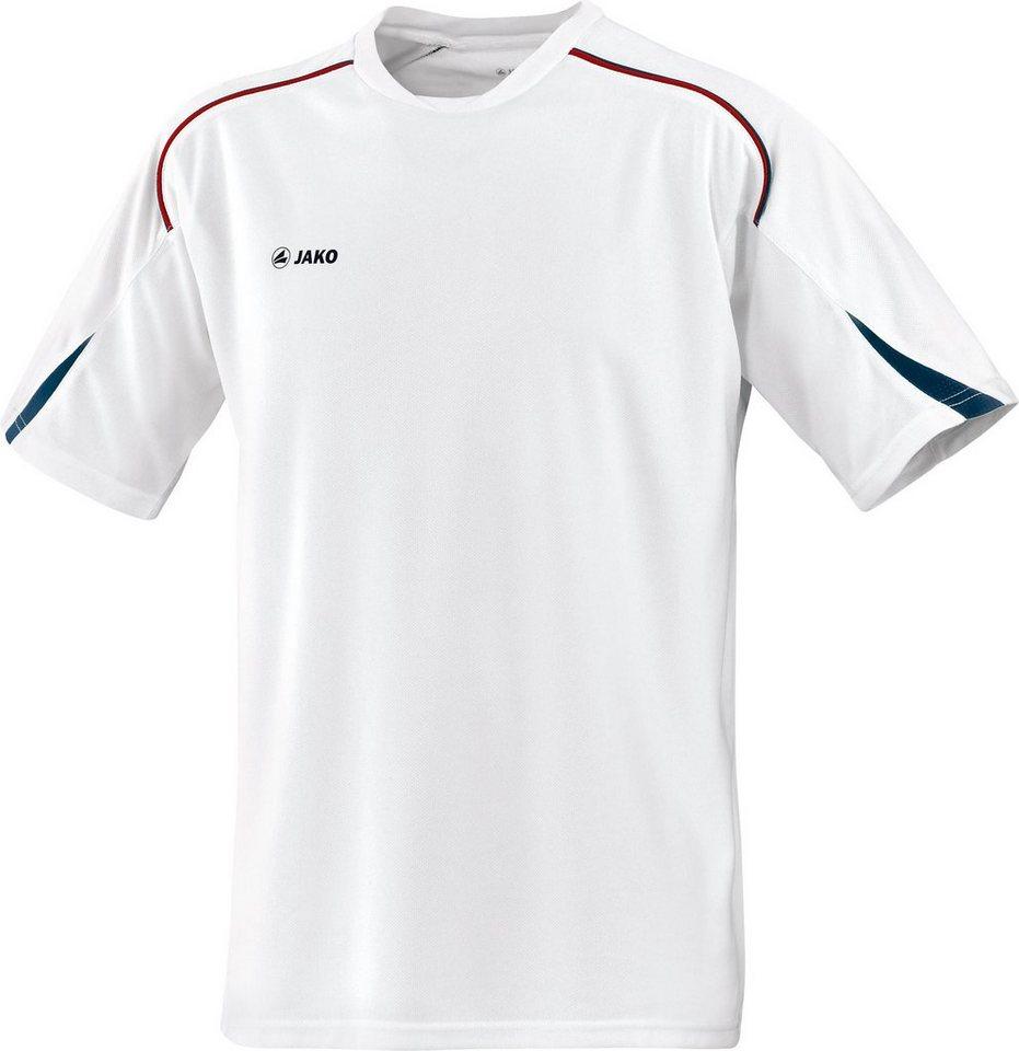 JAKO T-Shirt Passion Kinder in weiß/marine/rot