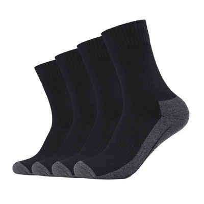 Camano Kurzsocken »Unisex Socken - Pro Tex Function, einfarbig, 4er«
