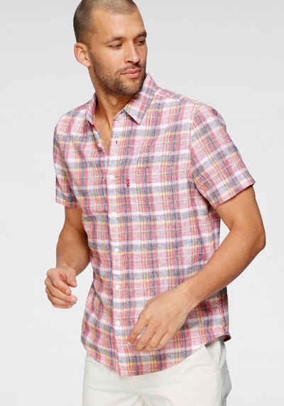 Levi's® Kurzarmhemd »LE SS CLASSIC 1 PKT STANDRD, VINCE« mit Allover-Karomuster