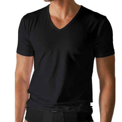 Mey Unterhemd »Dry Cotton T-Shirt mit V-Ausschnitt« (1 штука), Körpernahe Passform, Mit Klimaanlage, Halbarm mit V-Ausschnitt