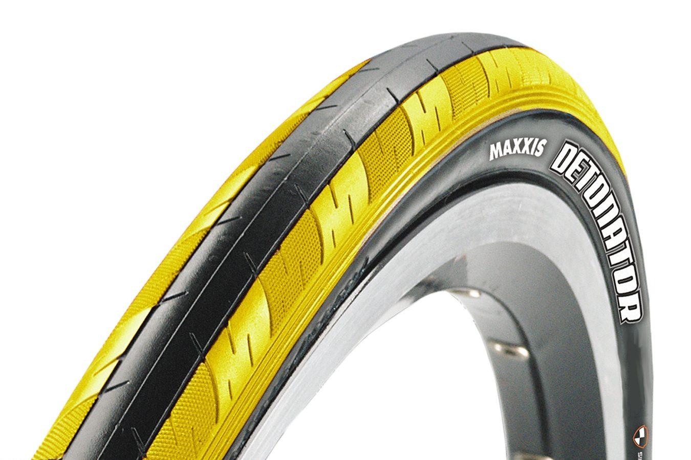 Maxxis Fahrradreifen »Detonator 28 Zoll Dual faltbar gelb/schwarz«