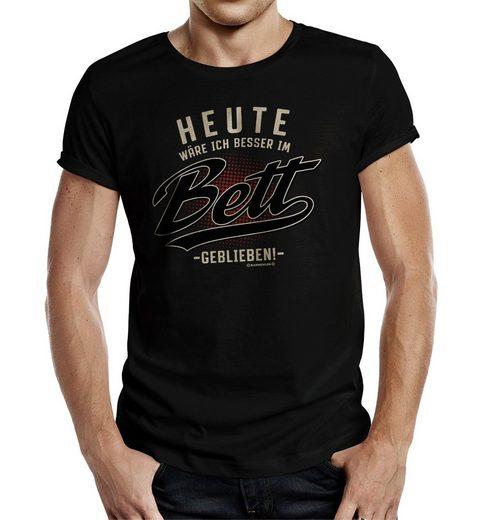 Rahmenlos T-Shirt mit tollem Frontprint