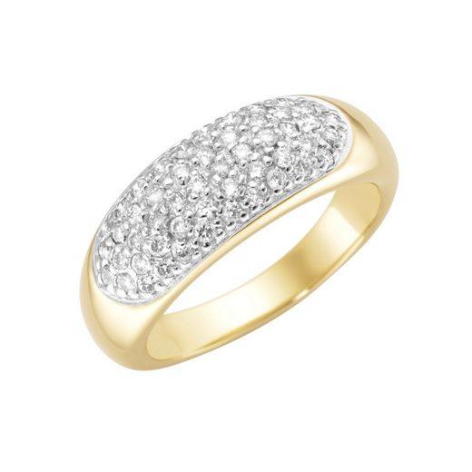 Luigi Merano Diamantring »mit Brillanten, Gold 585«