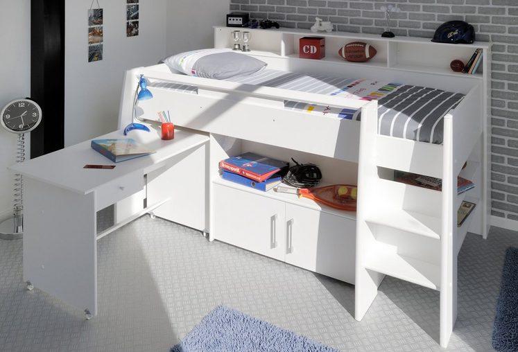 parisot halbhohes bett swan online kaufen otto. Black Bedroom Furniture Sets. Home Design Ideas