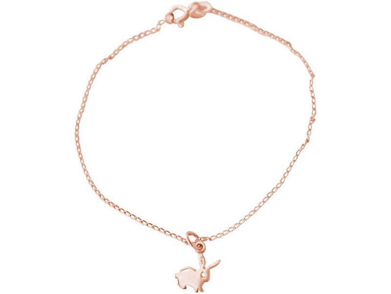 Gemshine Charm-Armband »Hase, Osterhase«, Made in Spain