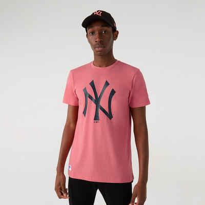 New Era Print-Shirt »New Era MLB NEW YORK YANKEES Seasonal Pink Team Logo Tee T-Shirt«