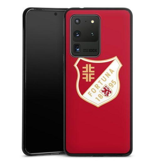 DeinDesign Handyhülle »Fortuna 1895 Rot« Samsung Galaxy S20 Ultra, Hülle Wappen Fortuna Düsseldorf Fußballer