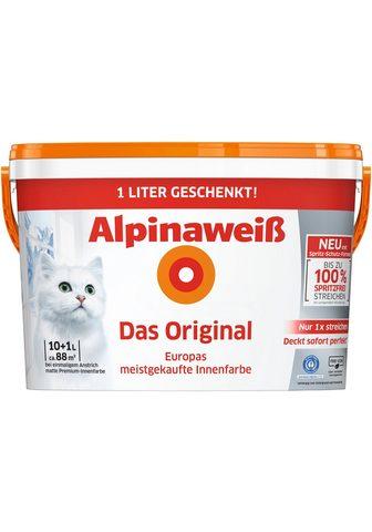 Alpina Wandfarbe »weiß Das Original« dėl Inne...