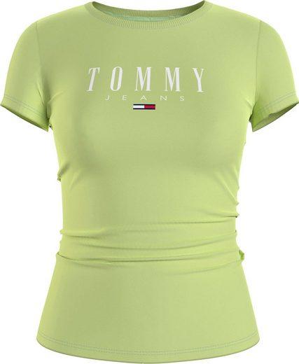 Tommy Jeans Rundhalsshirt »TJW ESSENTIAL SKINNY LOGO TEE« mit Tommy Jeans Logo-Schriftzug