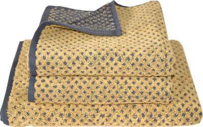 Dyckhoff Handtuch Set »Golden Shades Rhombus« (3-tlg)