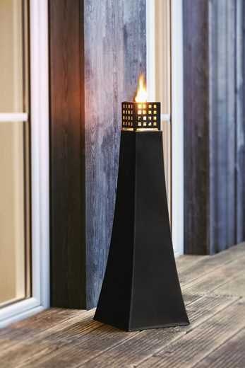 HomeLiving Windlicht »Metall-Öllampe«