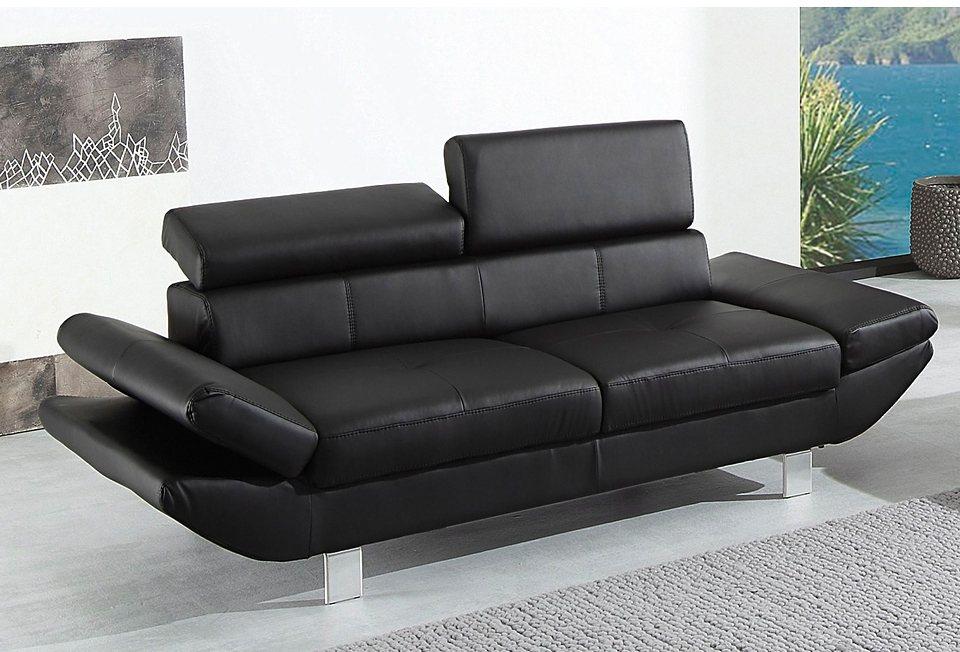 2-Sitzer in schwarz