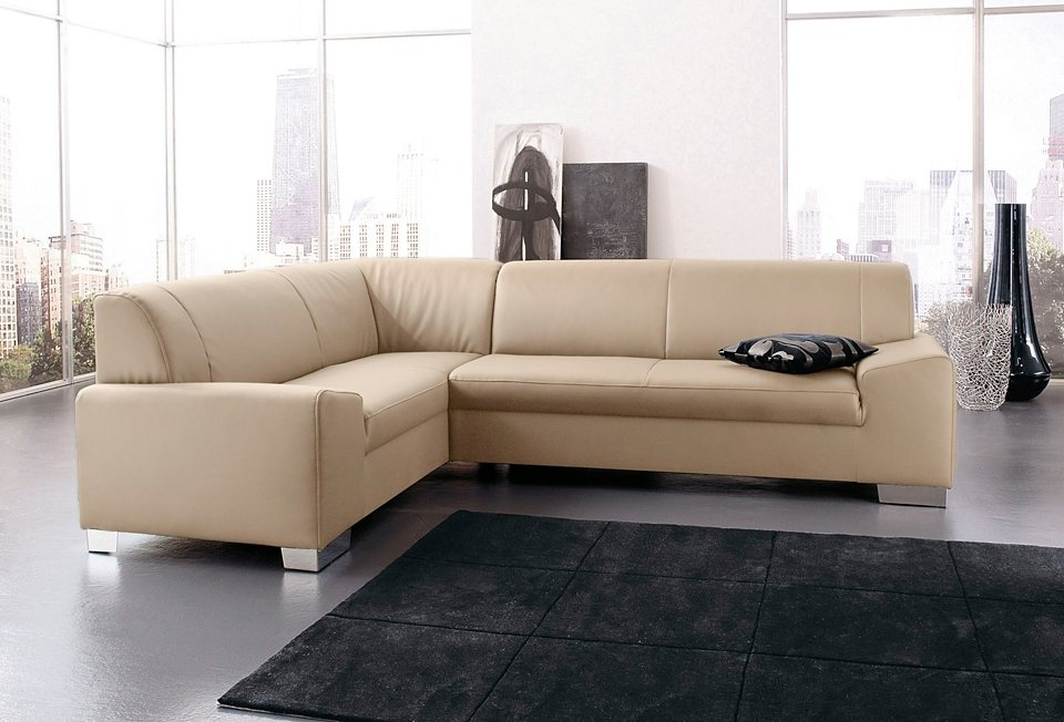 domo collection ecksofa wahlweise mit bettfunktion online kaufen otto. Black Bedroom Furniture Sets. Home Design Ideas