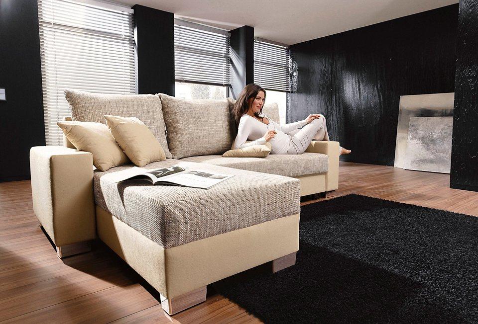 polsterecke auch mit federkern online kaufen otto. Black Bedroom Furniture Sets. Home Design Ideas