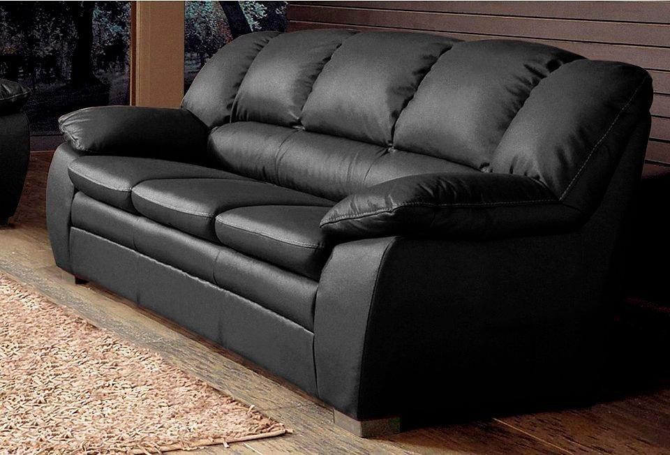 2,5-Sitzer in schwarz