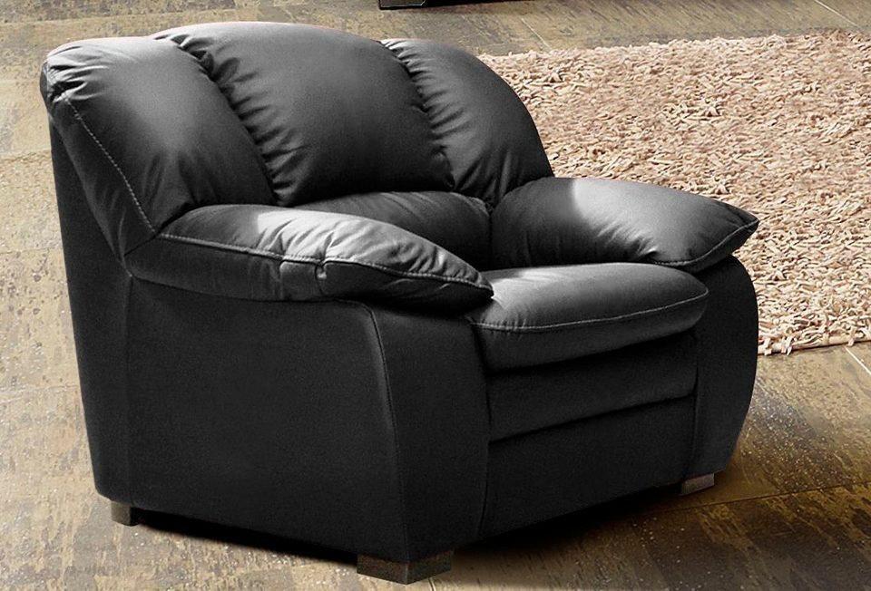 Cotta Sessel in schwarz