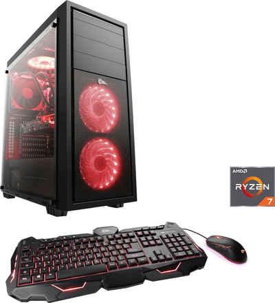 CSL HydroX T8752 Wasserkühlung Gaming-PC (AMD Ryzen 7 3700X, GTX 1660 SUPER, 16 GB RAM, 1000 GB SSD, Wasserkühlung)