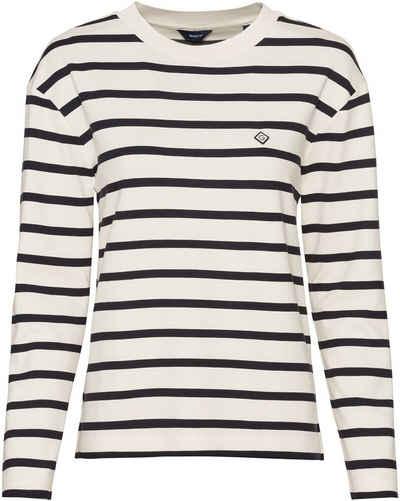 Gant Langarmshirt »Langarm-Ringelshirt«