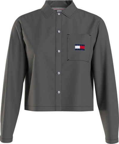 Tommy Jeans Hemdbluse »TJW Regular Heritage Badge Shirt« mit Tommy Jeans Logo-Badge
