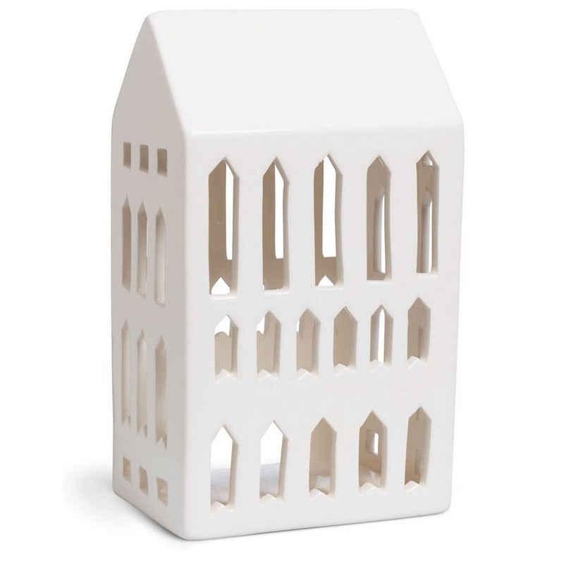 Kähler Teelichthalter »Lichthaus Urbania Church; Teelichthaus aus Keramik«