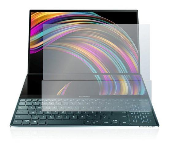 upscreen Schutzfolie »Panzerglasfolie für Asus ZenBook Duo UX481FL«, Schutzglas Glasfolie klar