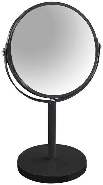 SPIRELLA Kosmetikspiegel »Sydney«, 2-Fach Vergrößerung, Ø 17cm | Bad > Bad-Accessoires > Kosmetikspiegel | Schwarz | #DoYourSports